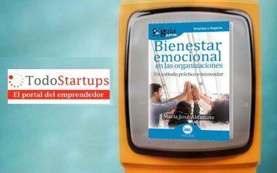 María José Aldunate presenta su libro sobre empresa en TodoStartups